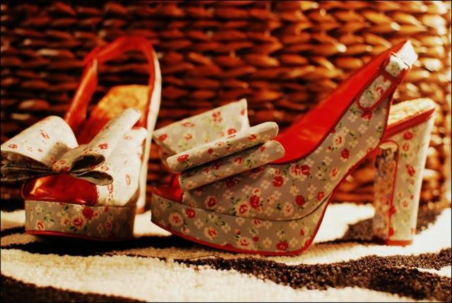 Irregular Choice Itsy Bitsy Betsy Peep-toe Heels