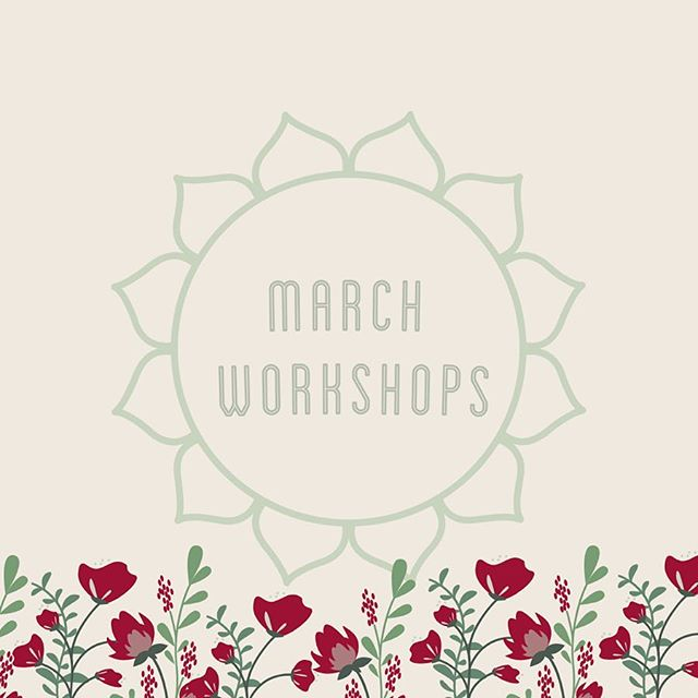 MARCH WORKSHOPS   They're up! We have some new teachers coming in next month along with some of your favorite workshops 🙌🏽 Here is the March lineup: . . . March 7th: Intro to Modern Brush Lettering with Kendra Dosenbach  March 8th: Block Printing Level 2 with Joan Bogart  March 9th: Soap Making with Yeun Byun  March 9th: Watercolor Moons with Kate Shriner March 10th: Intro to Letterpress with Ashley Cunningham March 12th: Hammered Brass & Crystal Earrings with Rhiannon Saunders  March 15th: Creative Life Design with Shiva Dosenbach  March 16th: Brass Wall Hangings with Kendra Dosenbach  March 17th: Natural Dyeing with Onion Skins with Kaitlin Bonifacio  March 19th: Exploring Watercolor: Basics for Beginners with Heidi Michelle Woodmansee March 23rd: Cake Decorating with Ella Fleming  March 24th: Macrame Wall Hangings with Dana Martinez  March 26th: Giant Knit Pouf with Cara Corey  March 30th: Flower Arranging 101 with United States of Flowers March 30th: Tea Blending with Nicole Fischer  March 31st: IPad Digital Art with Haley Jensen . . . . #allhandsworkshops #santacruz #santacruzlife #thingstodoinsantacruz #monthlylineup #downtownsantacruz #makeallthings #creativity #creative #creativecapacity #makeinsantacruz #creativeworkshops #art #artist #create #creategood #bayarea