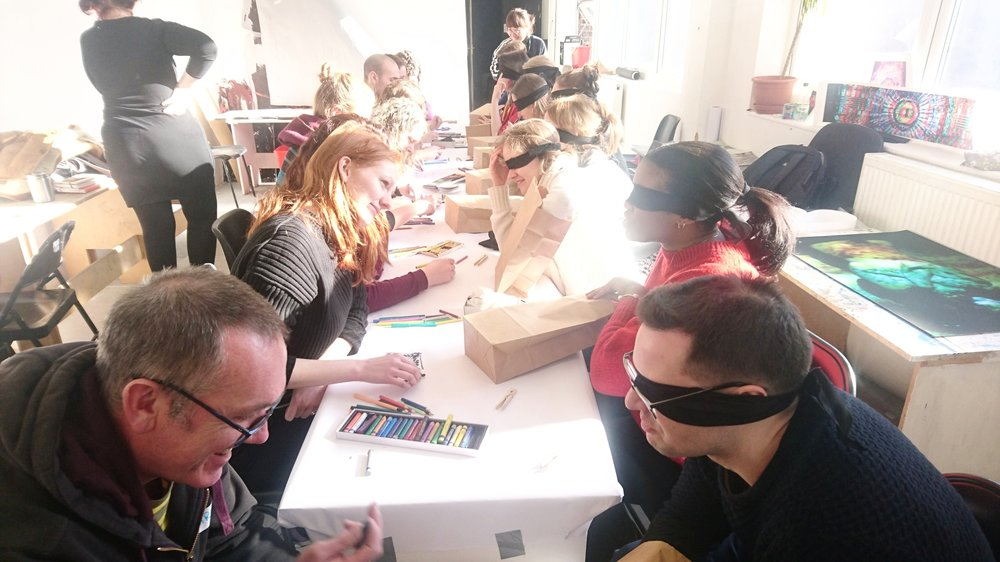 Sensory studio workshop