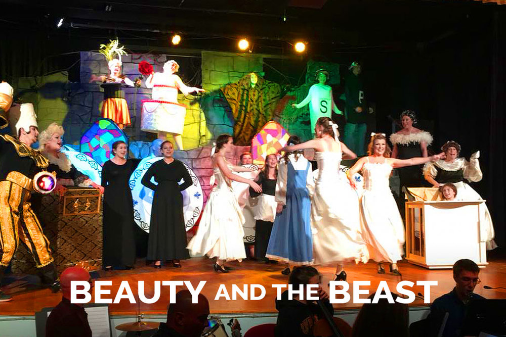 Beauty and the Beast presented by the Spanish Trail Playhouse