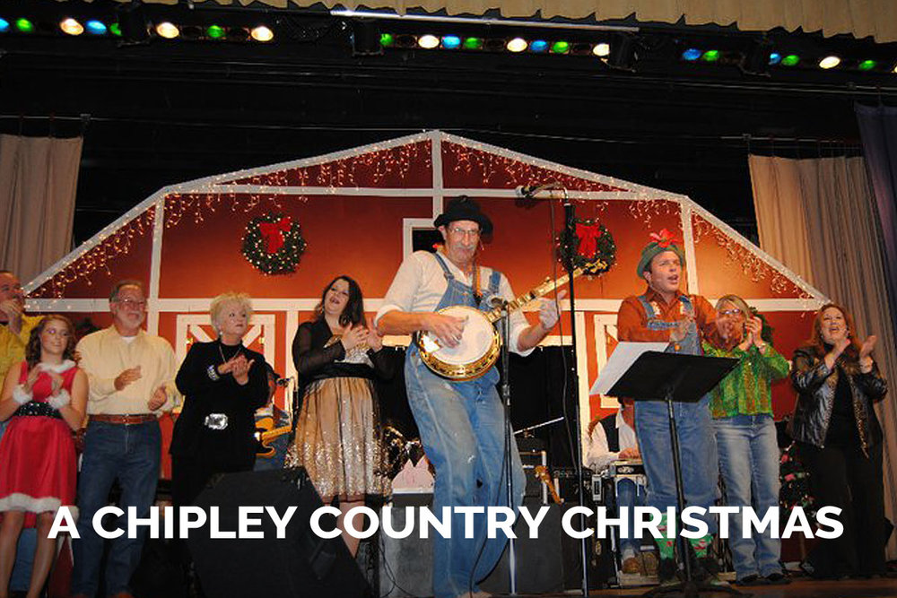 A Chipley Copuntry Christmas presented by The Spanish Trail Playhouse