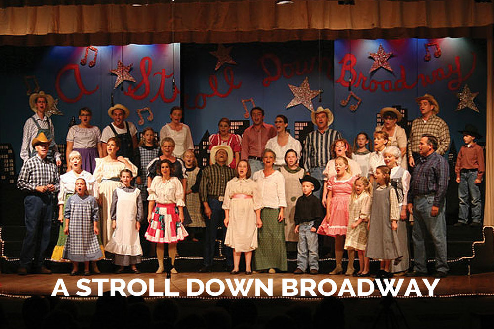 A Stroll Down Broadway presented by the Spanish Trail Playhouse