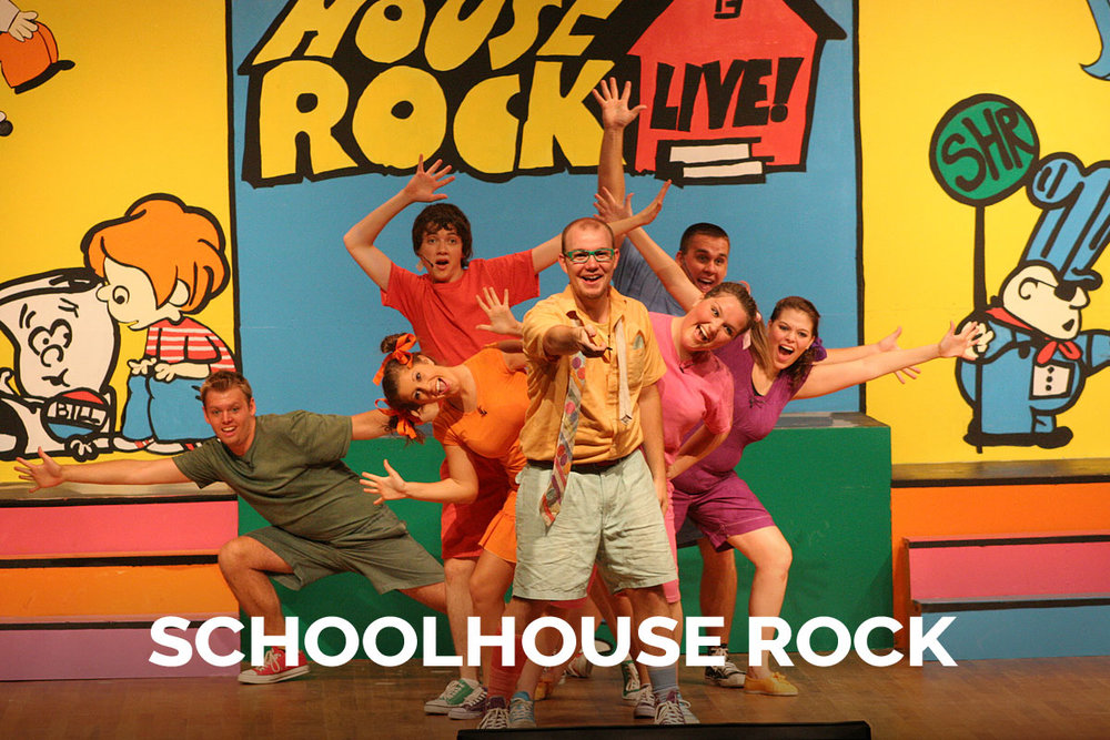 Schoolhouse Rock presented by the Spanish Trail Playhouse