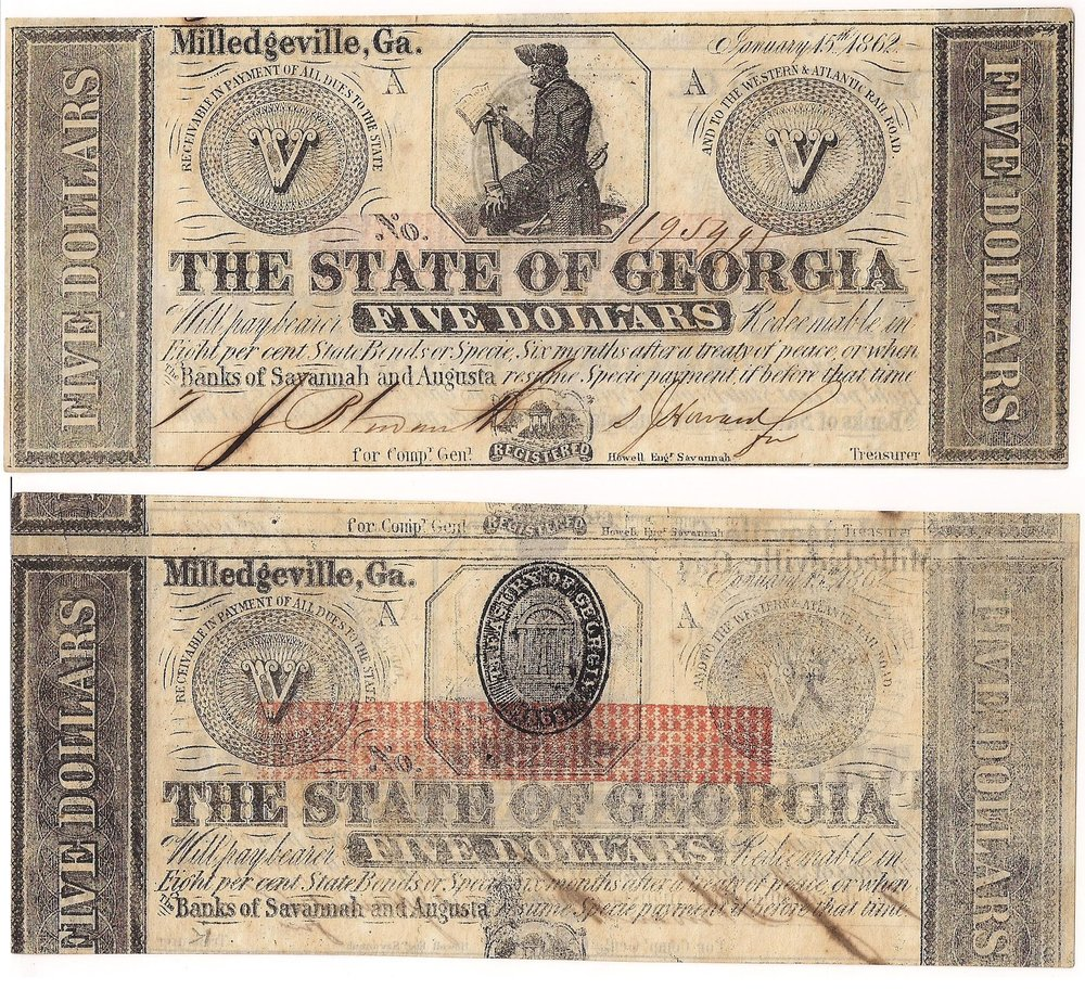 1862 State Notes -