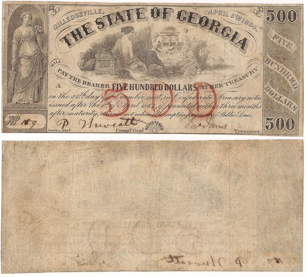 1864 State Notes -