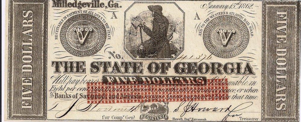 1862 $5 - Type 1 (Standard,