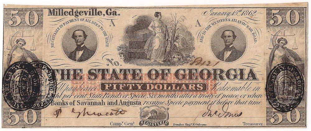 1862 $50 - Type 4