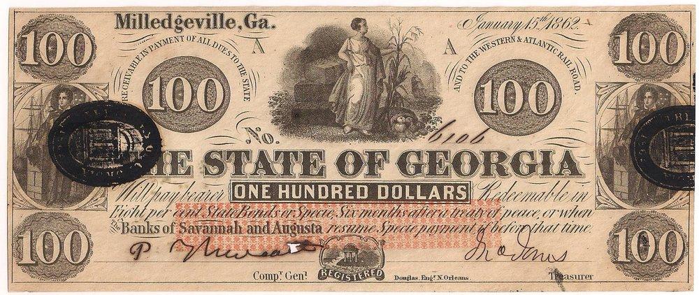 1862 $100 - Type 5