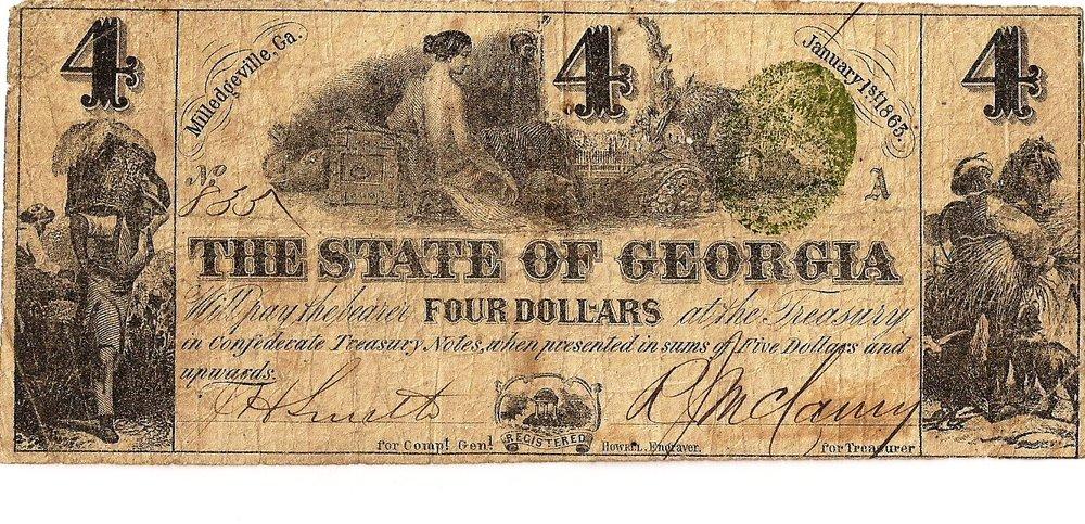 1863 $4 - Type 18
