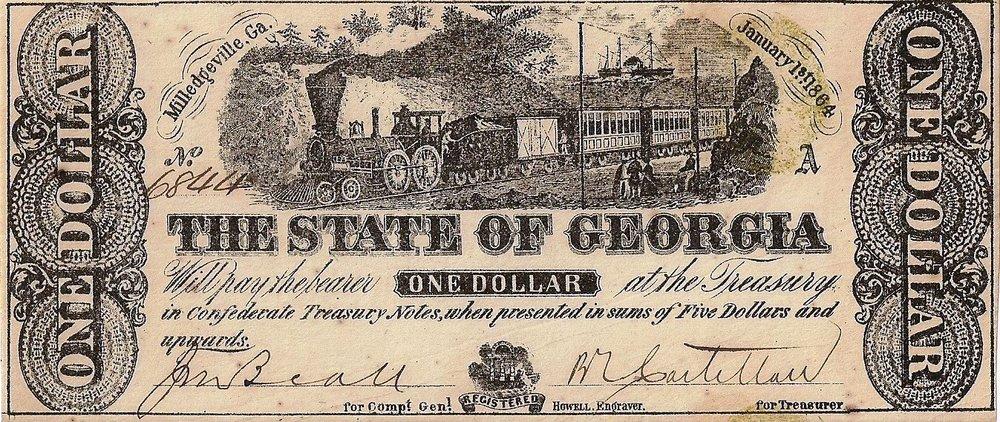 1864 $1 - Type 23