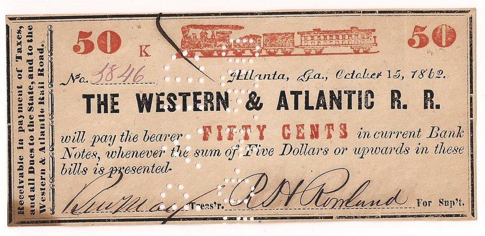 Series K - October 15, 1862