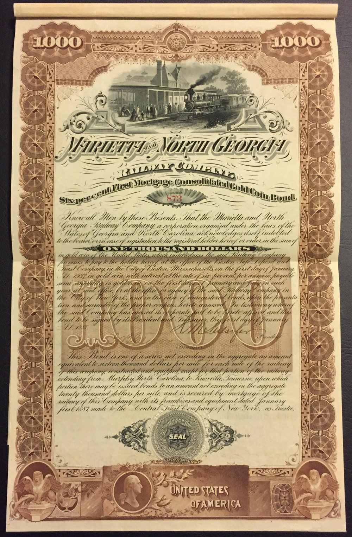 Railroad Bonds -