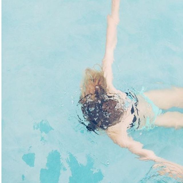 Floating into the weekend. 💦