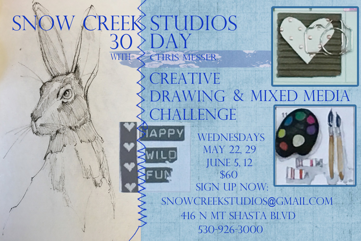 1 Of 4 30 Day Creative Drawing And Mixed Media Challenge With Chris