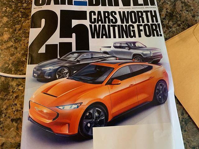 @caranddriver . WTF IS THIS SHIT ON THE FRONT COVER!!! ELECTRIC FORD MUSTANG SUV!!!! @ford WTF!?!?!? That's not a Mustang I'm sorry. Don't ruin that badge and name with an SUV 🤦‍♂️🤦‍♂️🤦‍♂️. . . . . .