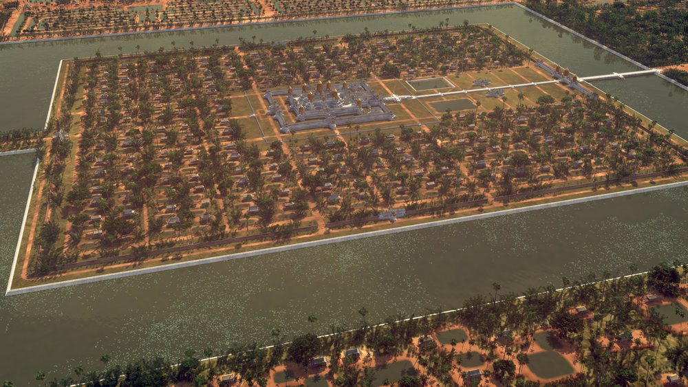 A virtual reality model of the Angkor Wat complex in the 12th Century.jpg