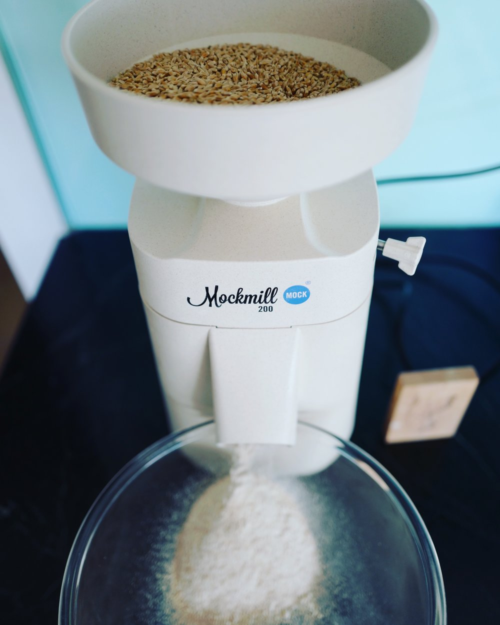 I highly recommend the  Mockmill 100 and 200  which is for sale HERE!
