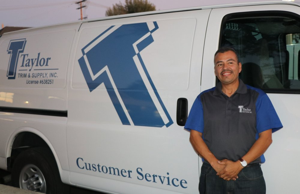 Junior Gonzalez                               Customer Service  Junior began with Taylor Trim & Supply in 2012 as a finish carpenter/installer.  His work ethic, attitude, and professionalism on the job were hard to miss, making him the ideal candidate for our full-time customer service role.  Junior brings a unique energy into his job, and always wears a smile.  He is eager to make a positive impact in someones day, and continues to do just that for his  fellow team members, and his customers.    Junior enjoys the variety in his job, as he typically is on the move.  He gets to work with his hands, and interact with people.   On his spare time, Junior enjoys restoring classic cars.  He is currently restoring a 1948 Chevy pickup.