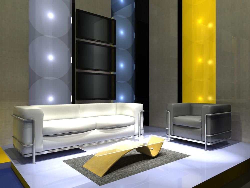 Tv studio furniture News Anchor Tv Ten 6jpg Newscaststudio Tv Studio Ameryoun Design