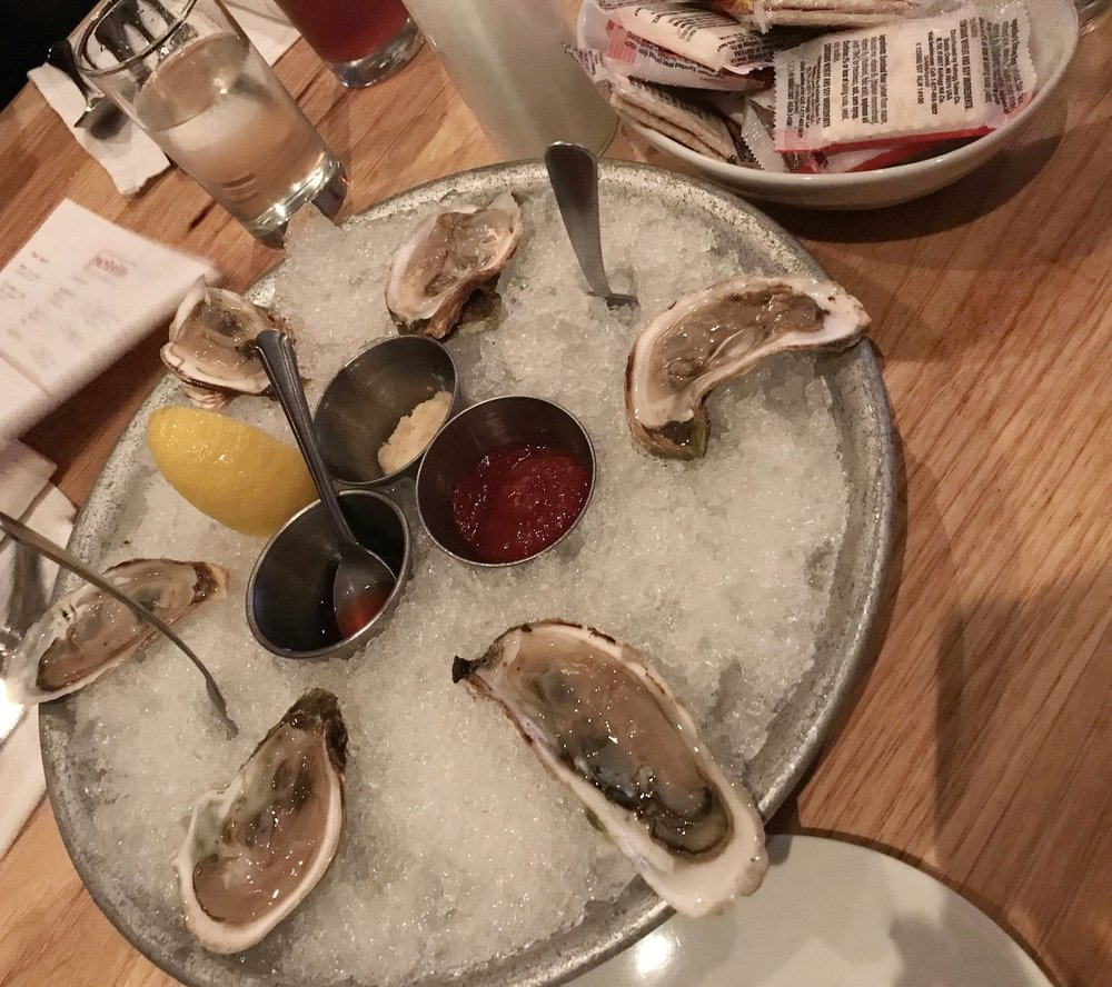 Oysters at Parkside