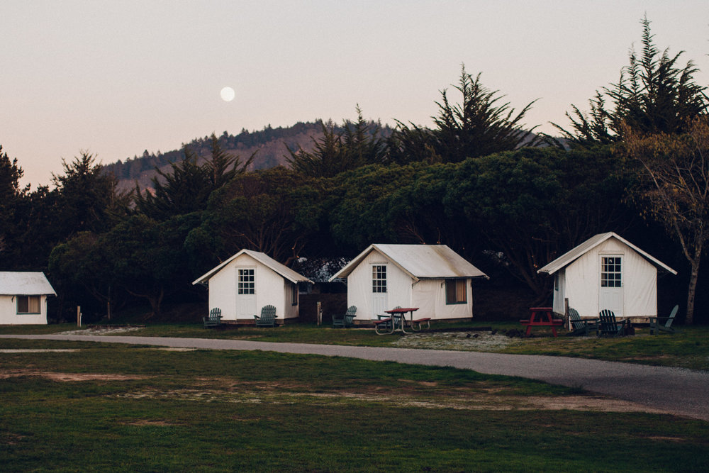 MOONRISE OVER COSTANOA