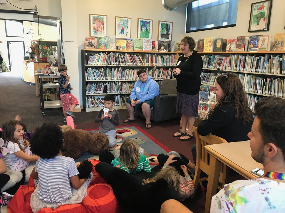 Gavin Grimm came to our Playgroup to inspire kids both young and old!