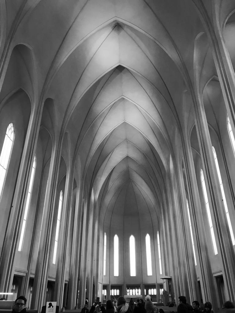 Reykjavik Church, Iceland 2017