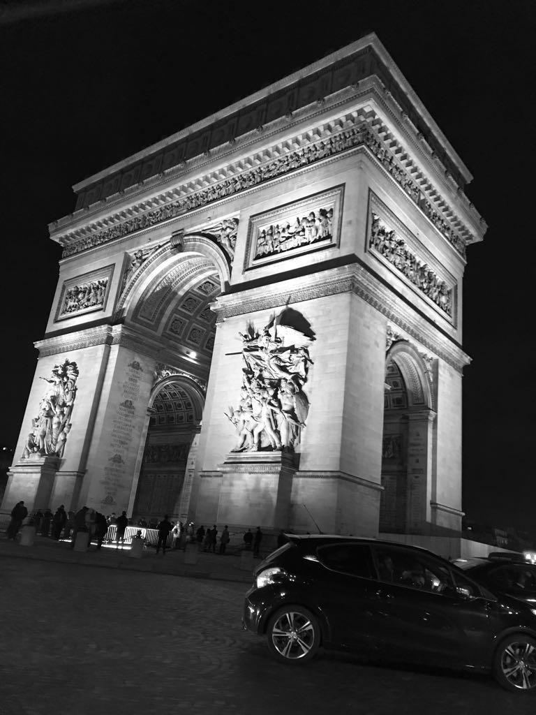 Arch of Triumph, Paris, France 2017