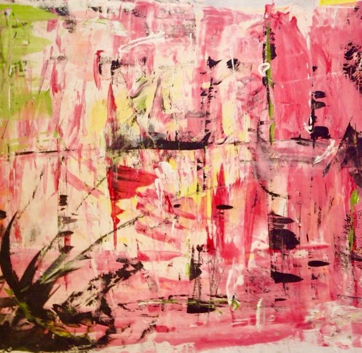 Swamp  24 x24 | Aquarela on paper