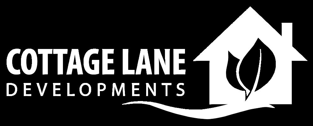 Cottage Lane Logo - New - White - Shadow.png