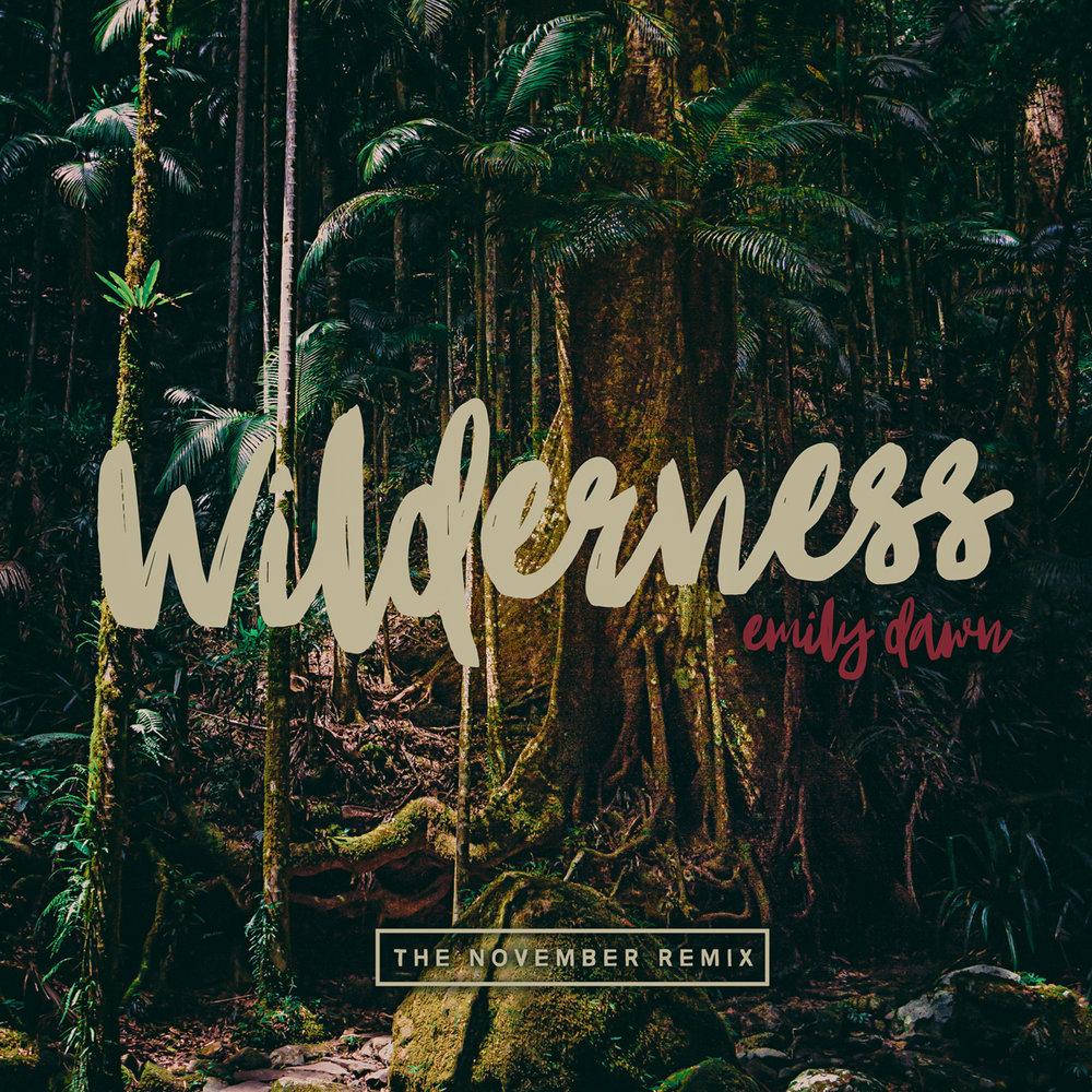 Wilderness, The November Remix, Album Cover Photography & Design for Emily Dawn