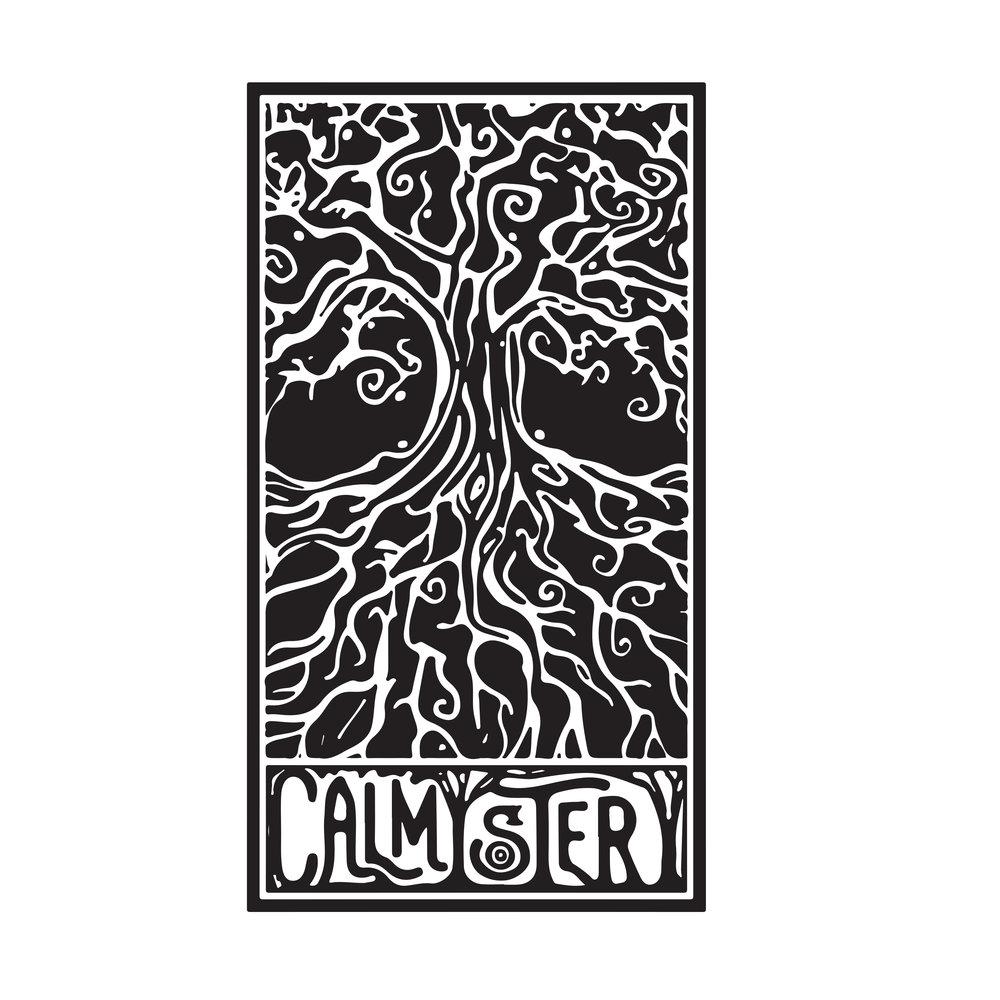 Calmystery Musicians Logo for Peter Jones, 2017