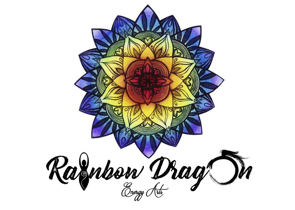 Business Logo Re-Imagining for Rainbow Dragon Energy Arts
