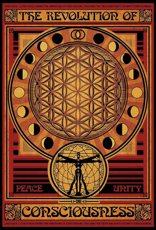 Revolution of Consciousness | Vintage Style Propaganda Poster 2014