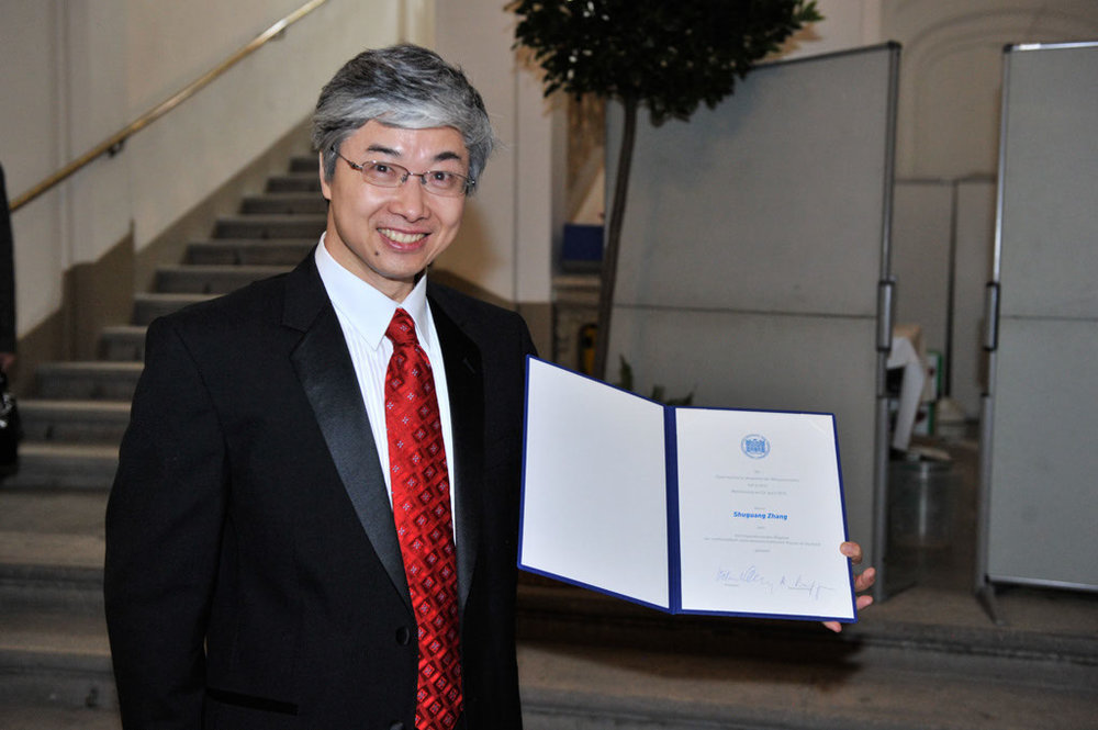 Induction into the Austrian Academy of Sciences, 2010.