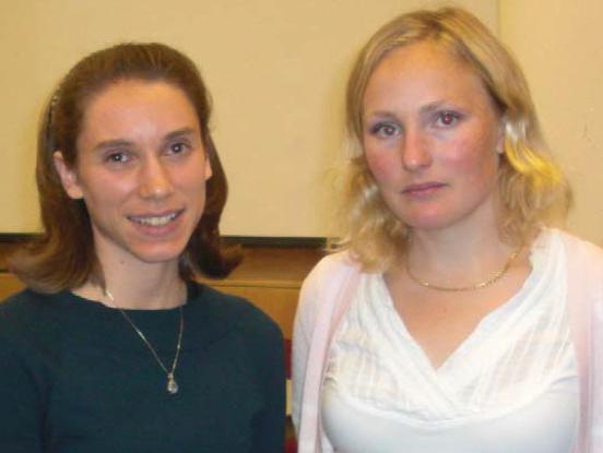 Karolina Corin and Lotta Tegler