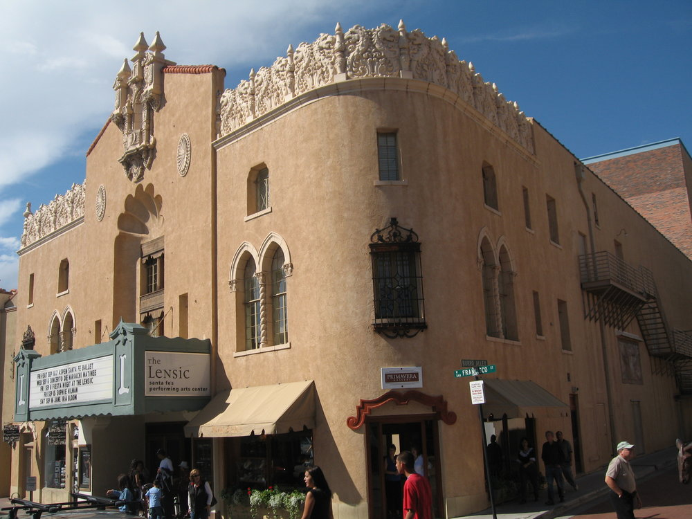 The Lensic Performing Arts Center • Santa Fe