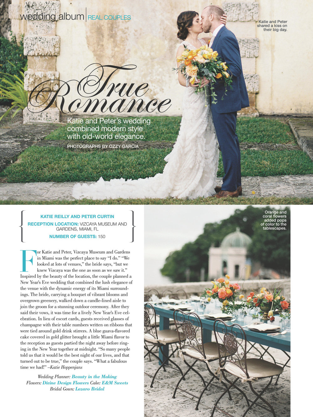 Bridal Guide magazine Katie and Peter Wedding Page  May:June.jpg