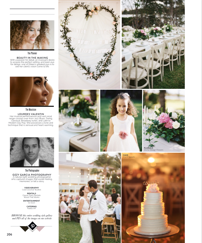 The Celebration Society Magazine Featured Beauty in the Making Valerie and Anthony Wedding Sea Side Lantana Divine Design Flowers Escort Cards.png