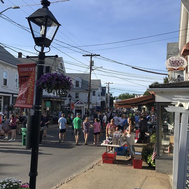 This is happening...Tisbury Street Fair 6-9! #brickyardmv #mv #shoplocalmv #shopmainstvh #tisburystreetfair #marthasvineyard #visitvineyardhaven