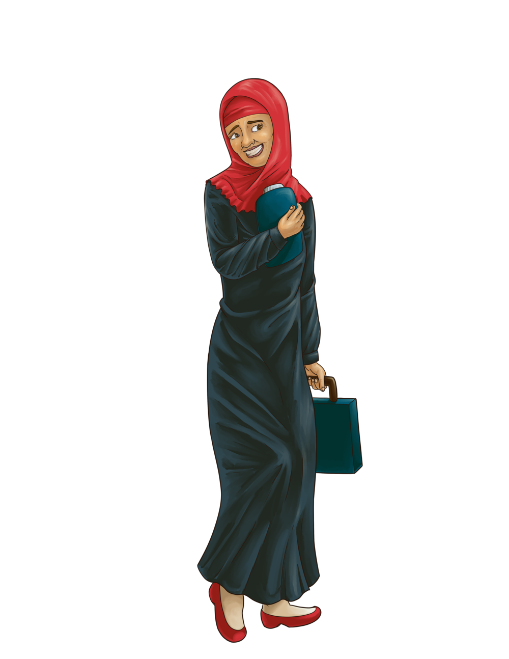 02-Shy Muslim Woman.png