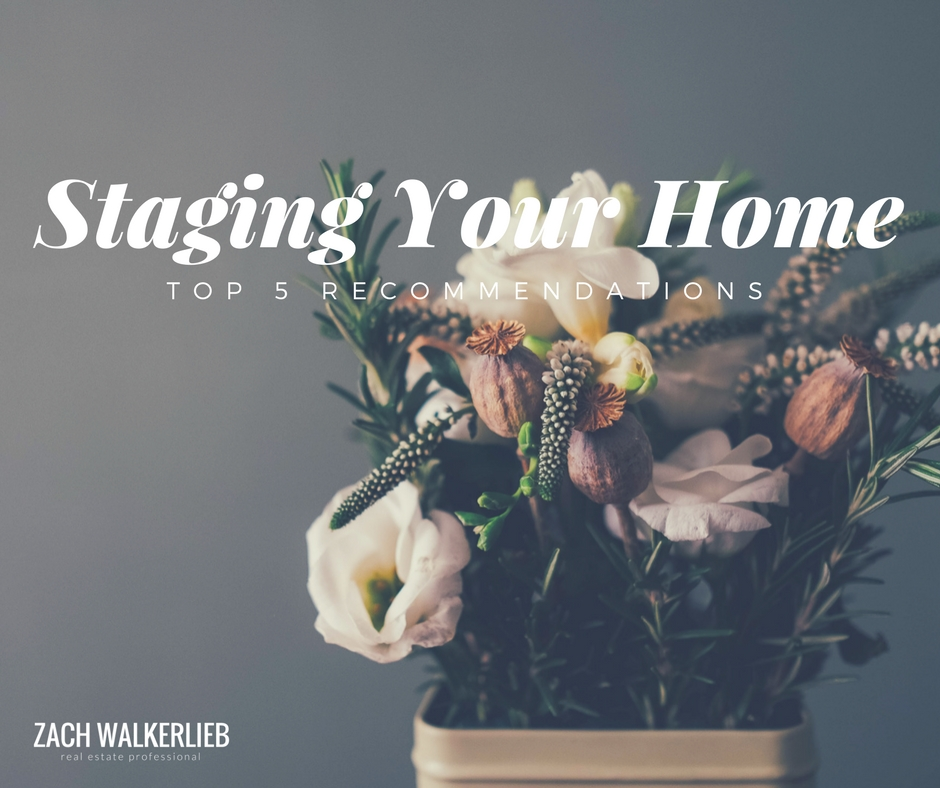 How to stage your home - our top 5 recommendations to help your home sell well