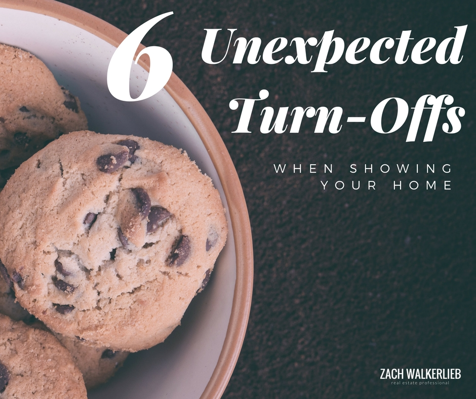 6 Unexpected Turn-Offs when showing your home. Things to not do when you're listing your home.