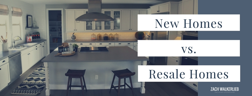 New Homes vs. Resale Homes - Which is right for you