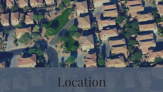 The location of the home is another difference between resale homes and new home builds.