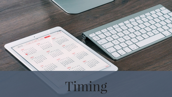 Timing is another characteristic that can change depending on if you get a new home or a resale home.