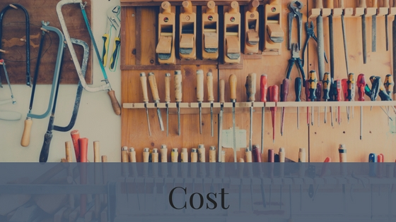 Cost is a factor that can change depending on if you want a new home/new home build or a resale home.