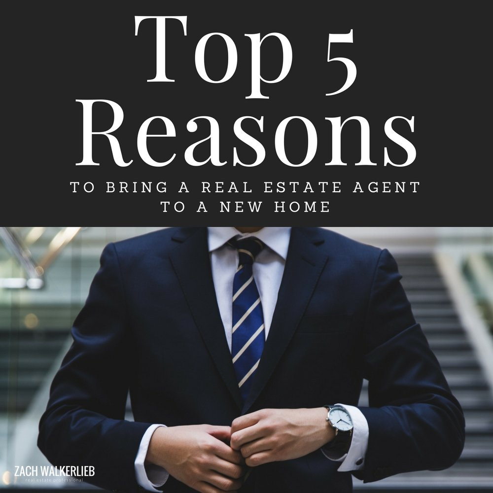 Why You Should Always Bring an Agent to a New Home