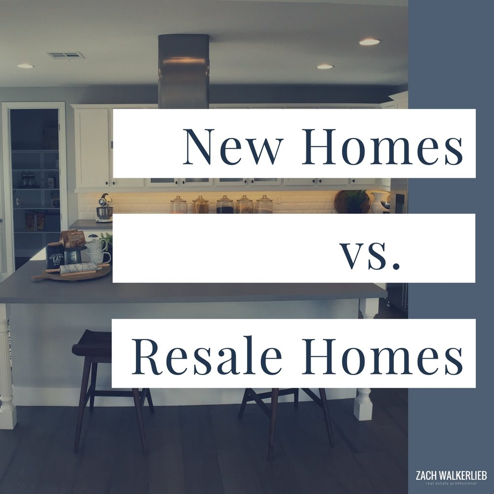 Things to Consider When Purchasing a New Home Build versus a Resale Home