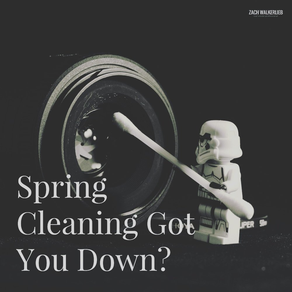 Springtime, Time to Clean! Spring Cleaning Checklist